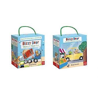 Bizzy Bear Book and Blocks set by Benji Davies