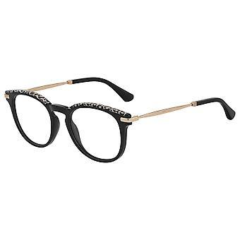 Jimmy Choo JC247 FP3 Black Gold Leopard Glasses