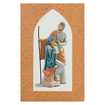 Willow Tree Christmas Story Greeting Card
