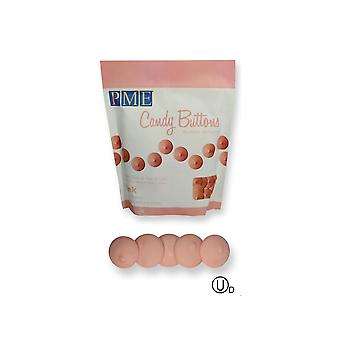 PME Candy Buttons Melts - 12oz 340g - Roze