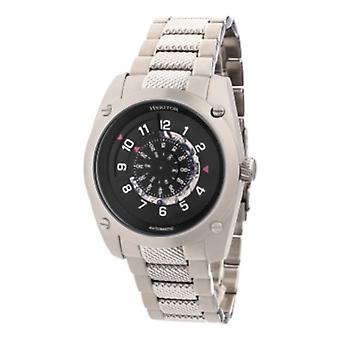 Heritor Automatic Daniels Semi-Skeleton Bracelet Watch - Silver