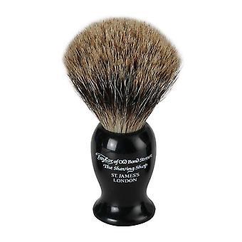 Taylor of Old Bond Street Pure Badger Hair Shaving Brush - Medium Black