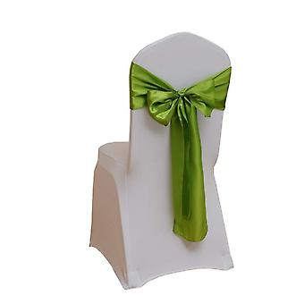 Premium Satin Chair Cover Sashes Fuller Bows