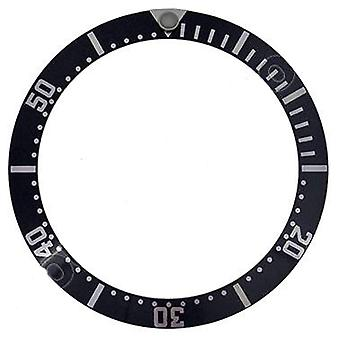 Watch bezel insert made by w&cp to fit omega 082su136 black