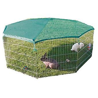 Trixie Enclosure Galvanized Mesh 8 elements 80 x 75 cm (Small pets , Cages and Parks)