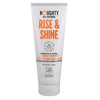 Noughty Conditioner aumento quotidiano e brillare 250ml per capelli normali