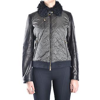 Veste d'outerwear en cuir vert Peuterey Ezbc017125 Femmes-apos;s Green Leather Outerwear