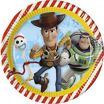 Toy Story 4 Piastre di cartone 8-pack