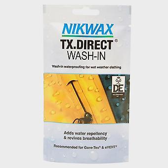 Nikwax TX. Direct Wash-In Beutel für langlebige Wasserabweisend weiß