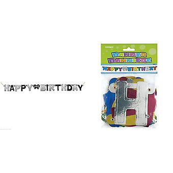 Unique Party Happy Birthday Jointed Letter Banner