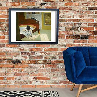 Edward Hopper - Sommer Innenraum Poster Print Giclee