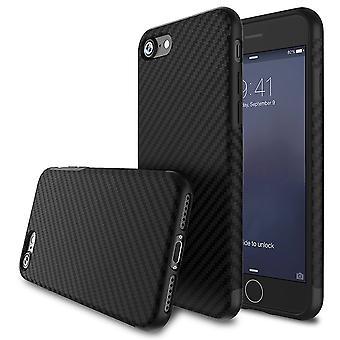 Textured carbon fibre iphone 7 plus case