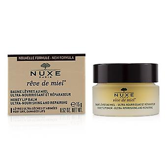 Reve De Miel Ultra-nærende og Reparation Honey Lip Balm - For meget tør beskadigede læber - 15g/0.52oz