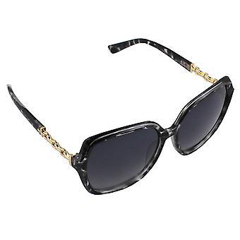 Solglasögon Ladies Square - Leopard Zwart2825_2