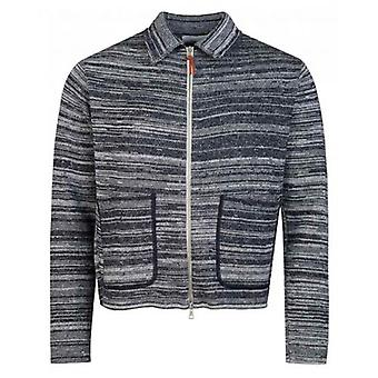 Albam gestreift Milano Stricken Track Top