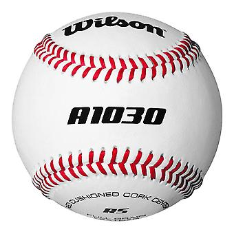 Wilson A1030 Raised Seam Official League Baseball Ball