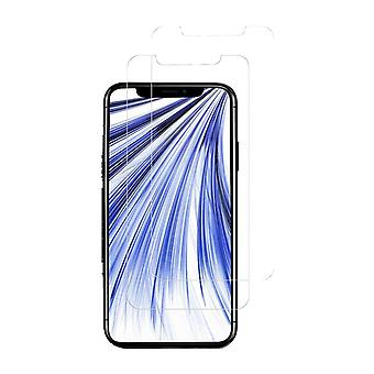 Protection contre l'écran iPhone XR verre durci - 2-pack transparent
