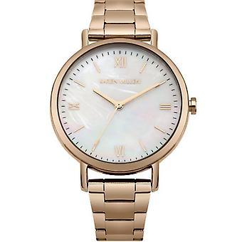 Shows Karen Millen KM159RGM - watch steel e Dor Rose female