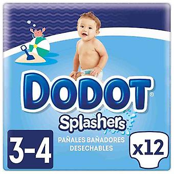 Dodot Splashers Size 3 12 Units from 6 to 11 Kg (Baby & Toddler , Diapering , Diapers)