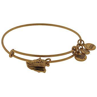 Alex and Ani Conch Shell Bangle Bracelet - Rafaelian Gold - A17EB73RG