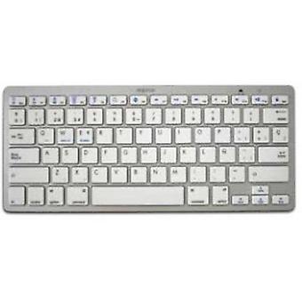 Bluetooth-Tastatur ca.! APPKBBT02S 3,0 Universal weiß