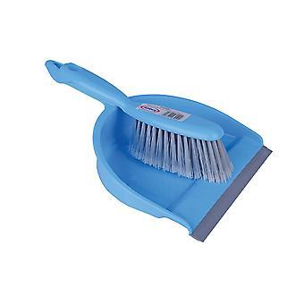 Robert Scott Blue Dustpan & Soft Brush