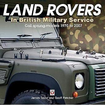Land Rovers in De Britse Militaire Dienst - rol geveerde modellen 1970 aan