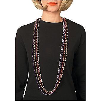 Mardi gras ruby necklace (2342)
