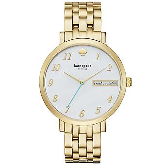 Kate Spade KSW1106 New York Monterey Ladies Watch - Goud
