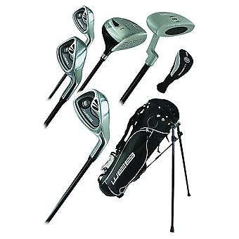 Go Junior High Quality Childrens 7 Piece Golf Starter Kids Package Set Age 13-16