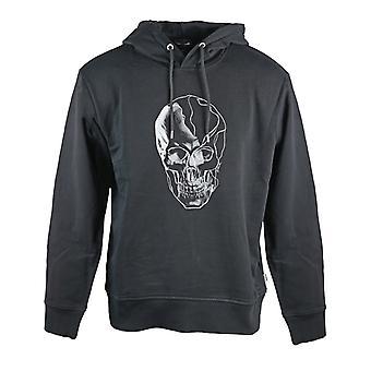 Just Cavalli Skull Musta Huppari