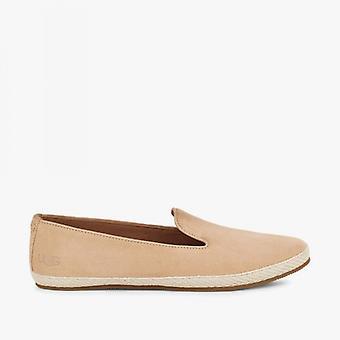 UGG Camryn Ladies Suede Slip On Shoes Bronzer