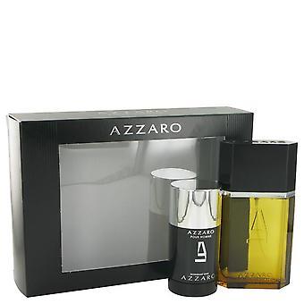 Ensemble-cadeau Azzaro par Azzaro 3,4 oz Eau De Toilette Spray - 2,2 oz Déodorant Stick
