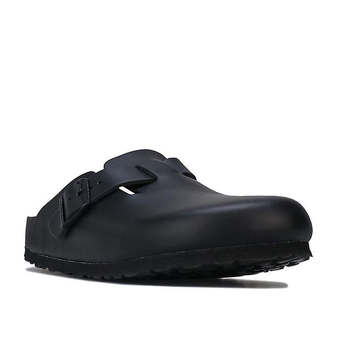 Women's Birkenstock Boston NL Exquisite Sandals in Black