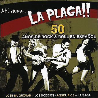 Ah Viene La Plaga!!-50 Anos De R&R - Ah Viene La Plaga!!-50 Anos De R&R [CD] USA import