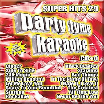 Various Artist - Party Tyme Karaoke: Super Hits 29 [CD] USA import