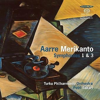 メリカント/トゥルク Po/サカリ ・ メリカント交響曲 1 ・ 3 [SACD] アメリカ インポート