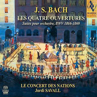 J.S. Bach - Bach: Les Quatre Ouvertures [SACD] USA import