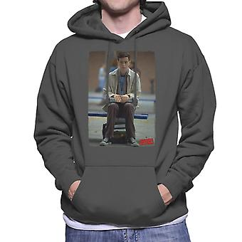 American Pie Paul Sitting Alone Men's Hooded Sweatshirt