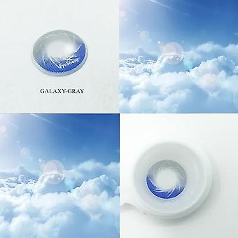 Galaxy Starry Sky Contact Lens Cosmetic Makeup 3 Color Contact Lenses Eyecolor