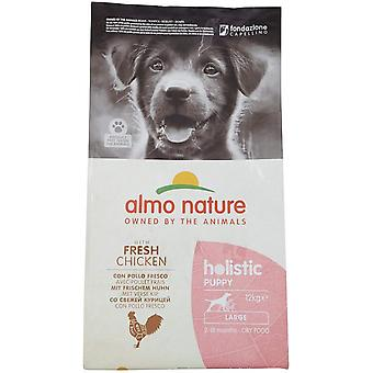 Almo Nature Holistic Maintenance Large Puppy Dry Food Chicken - 12kg