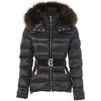Holland Cooper Aspen Faux Fur Trim Jacket