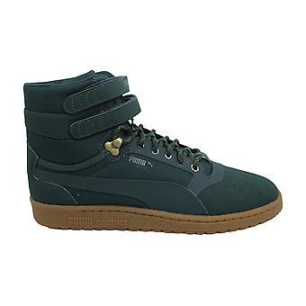 Puma Men's Shoes Sky II Hi Weatherproof Leather Hight Top Lace Up Fashion Sne...