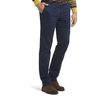 Meyer New York Cotton Trouser Navy