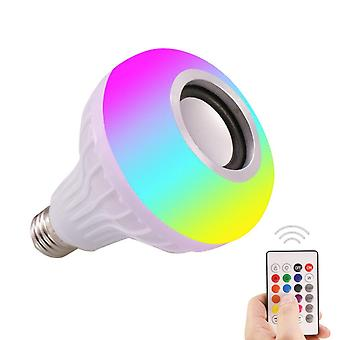 Smart Music Light Bulb Led Colorful Speaker Wireless Remote Control Audio Player