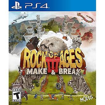 Rock of Ages 3 Make & Break voor PS4 Game