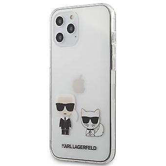 KARL LAGERFELD Choupette Backcover Hoesje iPhone 12 Pro Max
