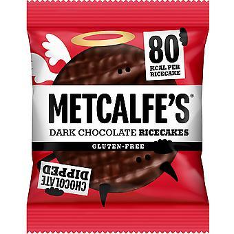 Metcalfe's Dark Chocolate Rice Cakes