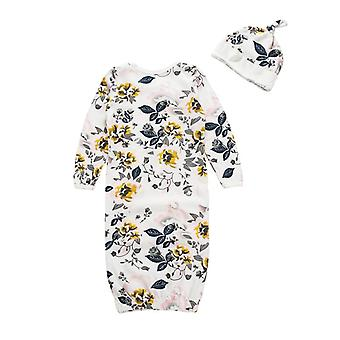 Infant Sleepwear, Newborn Floral Gown