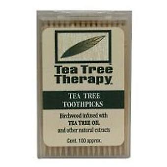 Tea Tree Therapy Toothpicks, 100 ct